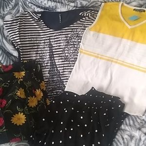 Tops - Miscellaneous ladies clothing 4 items
